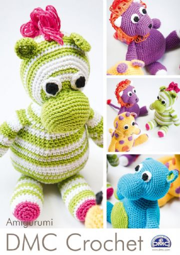 DMC Crochet Pattern Booklet - Amigurumi Animals.